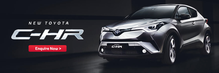 NEW TOYOTA C-HR FROM JAPAN