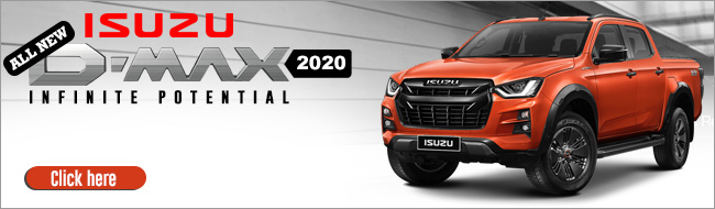 2020 All-New Isuzu D-Max Pickup Truck in Thailand